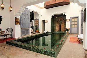 Maroc-Marrakech, Riad Les Jardins de Mouassine