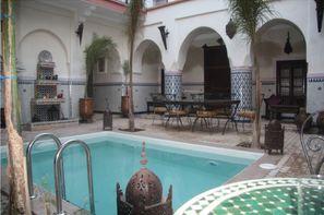 Maroc-Marrakech, Hôtel Moulay Ali 3*