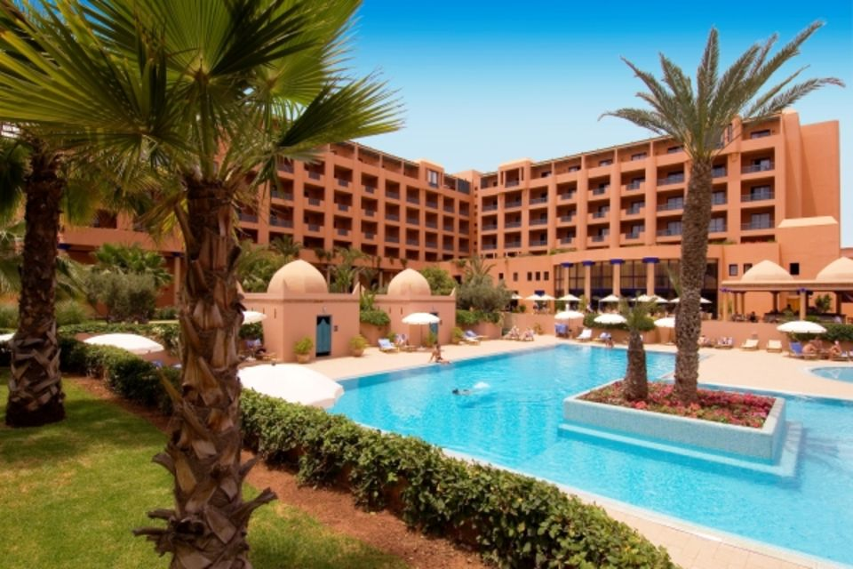 Hôtel Atlas Medina & Spa Marrakech & Villes Impériales Maroc