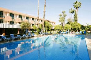 Maroc-Marrakech, Hôtel Chems 3* sup