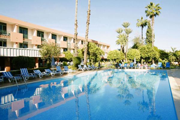 Piscine de l'hôtel - Chems Hôtel Chems3* sup Marrakech Maroc