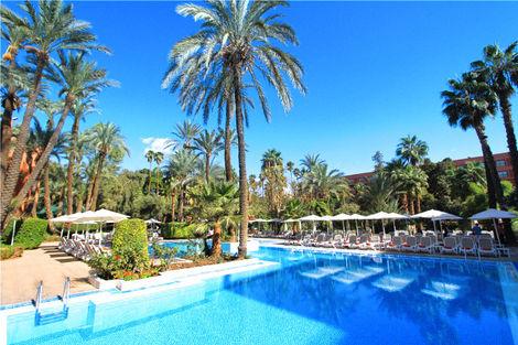 Maroc-Marrakech, Hôtel Kenzi Rose Garden 5*