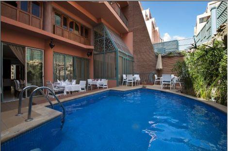 Maroc-Marrakech, Hôtel Le Caspien 3*