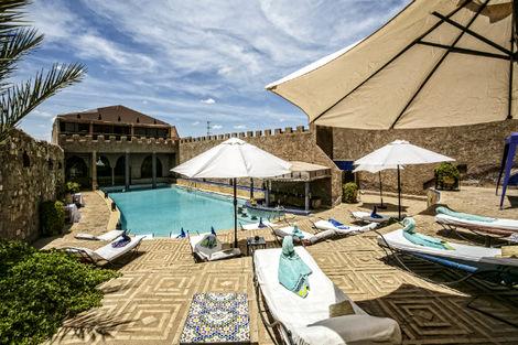 Maroc-Marrakech, Hôtel Le Kasbah Mirage
