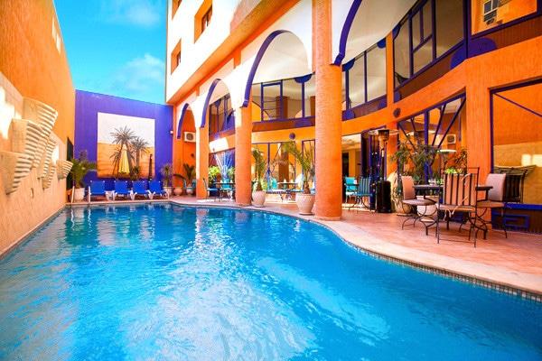 piscine - Les Trois Palmiers Hotel Les Trois Palmiers3*Sup Marrakech Maroc