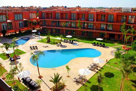 Maroc-Marrakech, Hôtel Rawabi 4*