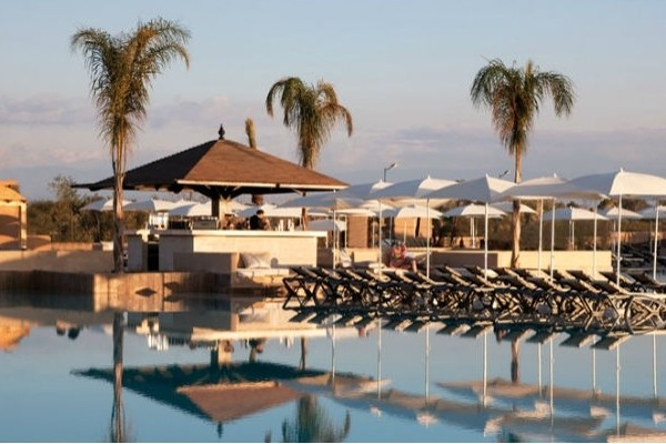 Hotel riu tikida palmeraie marrakech maroc promovacances for Piscine demontable maroc