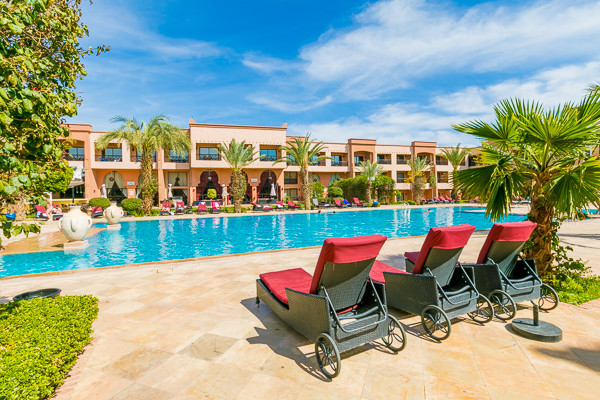 Piscine - Zalagh Kasbah & Spa Hôtel Zalagh Kasbah & Spa4* Marrakech Maroc