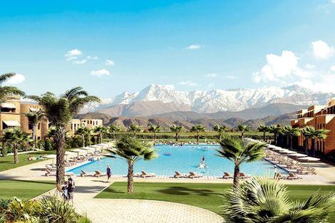 Maroc-Marrakech, Hôtel Aqua Mirage 4*