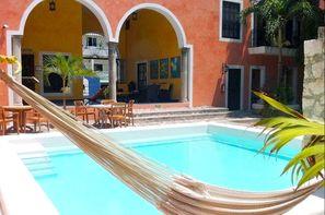 Mexique-Cancun, Hôtel Casa de las Flores 3*