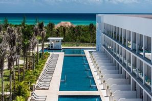 Mexique-Cancun, Hôtel Platinium Yucatan Princess 5*
