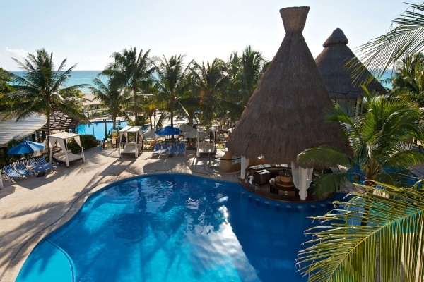 Piscine - The Reef Playacar Hotel The Reef Playacar		4* Cancun Mexique