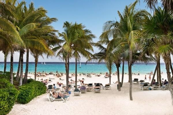 Plage - Riu Tequila Hôtel Riu Tequila5* Cancun Mexique