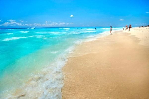 Plage - Viva Wyndham Azteca Hôtel Viva Wyndham Azteca4* Cancun Mexique