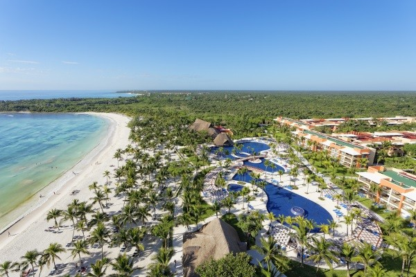 Vue d'ensemble - Barcelo Maya Grand Resort Hôtel Barcelo Maya Grand Resort5* Cancun Mexique