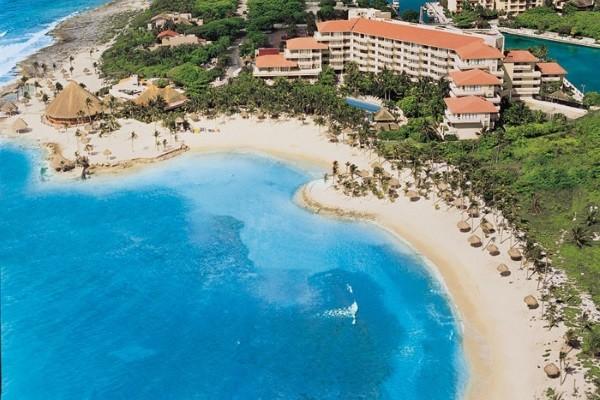 Vue d'ensemble - Dreams Puerto Aventuras Hôtel Dreams Puerto Aventuras5* Cancun Mexique