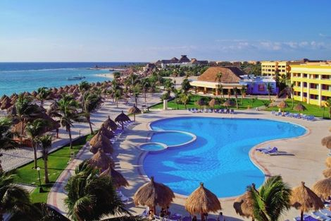 Mexique-Cancun, Hôtel Grand Bahia Principe Tulum 5*