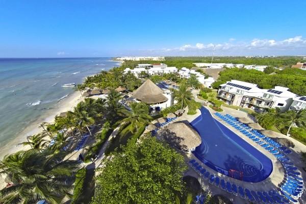 vue panoramique - Sandos Caracol Eco Resort Hôtel Sandos Caracol Eco Resort5* Cancun Mexique