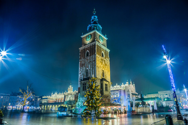 Cracovie Noël Hôtel Marché de Noël à Cracovie3* Cracovie Pologne