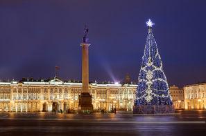 Russie-Saint Petersbourg, Hôtel Court séjour en hiver à Saint Pétersbourg 4*