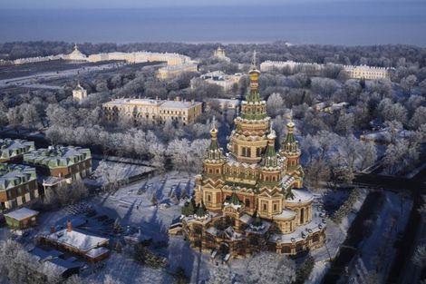 Russie-Saint Petersbourg, Hôtel Marchés de Noel à Saint Pétersbourg 4*