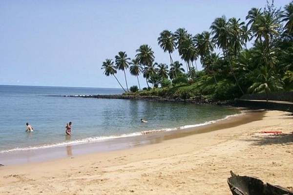 Plage - Santana Club Santana4* Sao Tome Sao Tome
