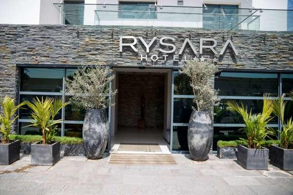 Façade - Rysara  Hôtel Rysara4* Dakar Senegal
