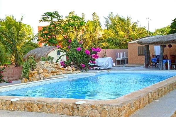 Piscine - La Lagune Hôtel La Lagune3* Dakar Senegal