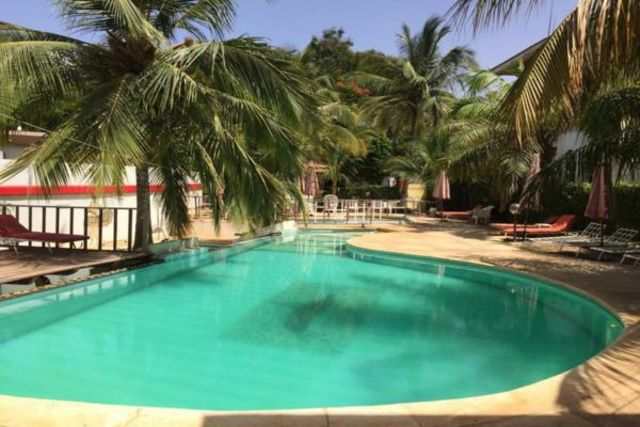 Senegal : Hôtel Les Flamboyants