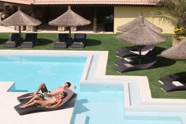 Petite piscine extérieure - The Rhino Resort & Spa Hôtel The Rhino Resort & Spa5* Dakar Senegal