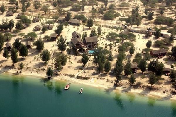 Vue aérienne - Lodge et Océan Savane Hôtel Lodge et Océan Savane4* Dakar Senegal