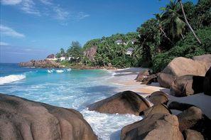 Seychelles-Mahe, Hôtel Banyan Tree Seychelles 5*