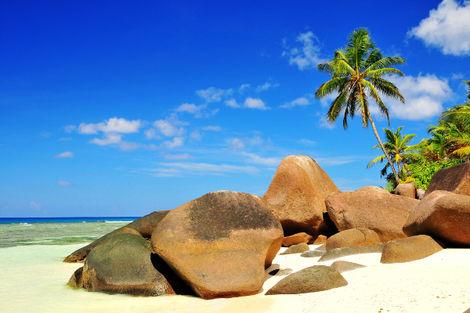 Seychelles-Mahe, Hôtel Berjaya Praslin Resort 3*