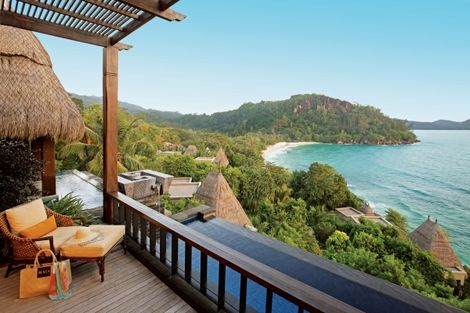 Seychelles-Mahe, Hôtel Maia Luxury Resort & Spa 5*