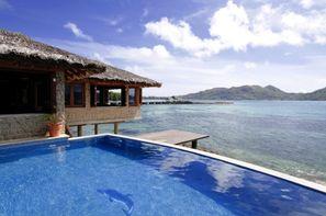 Seychelles-Praslin, Hôtel Chalets Côté Mer