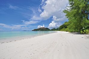 Seychelles-Praslin, Hôtel Côte d'or Footprint 3*