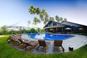 Sri Lanka-Colombo, Hôtel Kamili Beach Villa 4*