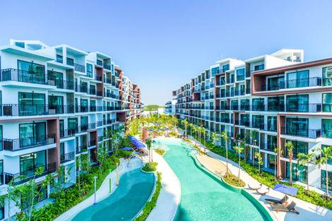 Hôtel Centra Maris Resort Jomtien Bangkok et plages Thailande