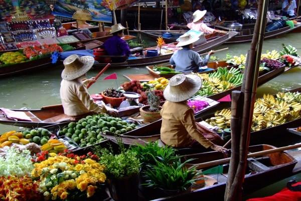 Marché Hôtel Bienvenue en Thailande3* Bangkok Thailande