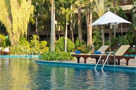 Thailande-Bangkok, Hôtel Green Park Pattaya 3*
