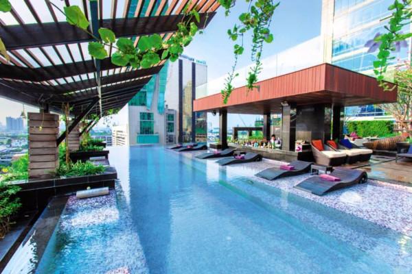 Hotel mode sathorn hotel bangkok thailande promovacances - Hotel bangkok piscina ...