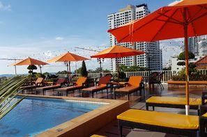 Thailande-Bangkok, Hôtel New Nordic Kristine 3*