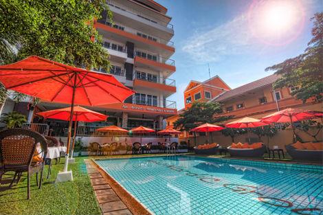 Hôtel New Nordic Pattaya Bangkok et plages Thailande