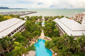 Thailande-Bangkok, Hôtel Ravindra Jomtien 5*