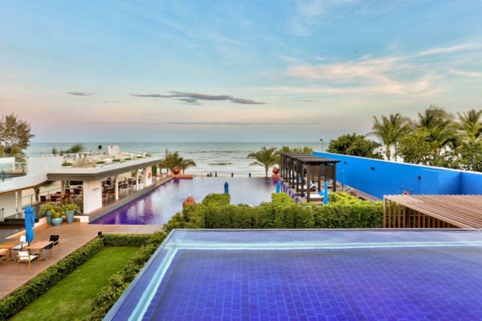 Hôtel Ace of Hua Hin Resort Bangkok et plages Thailande