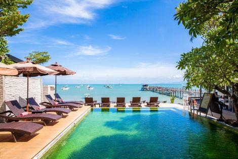 Thailande-Koh Samui, Hôtel Punnpreeda Beach Resort Samui 3* sup