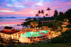 Thailande-Koh Samui, Hôtel Banburee Wellness Beach Resort & Spa 4*