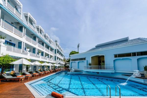 Piscine - Andaman Seaview Hotel Andaman Seaview4* Phuket Thailande