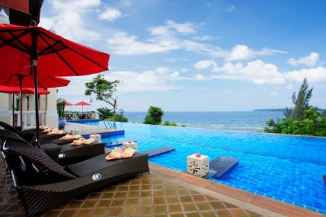 Thailande-Phuket, Hôtel Aquamarine Resort 4*