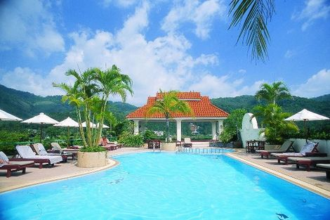 Thailande-Phuket, Hôtel The Old Phuket Karon Beach Resort 4*